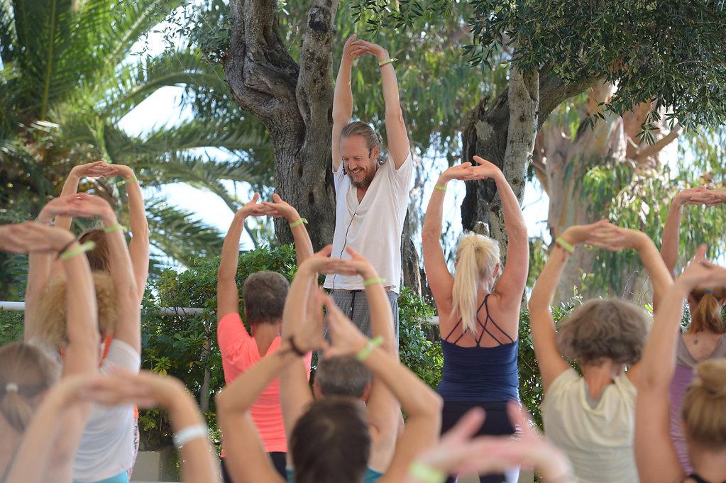 YogaEasy Allstars Retreat, Korfu/ 2017
